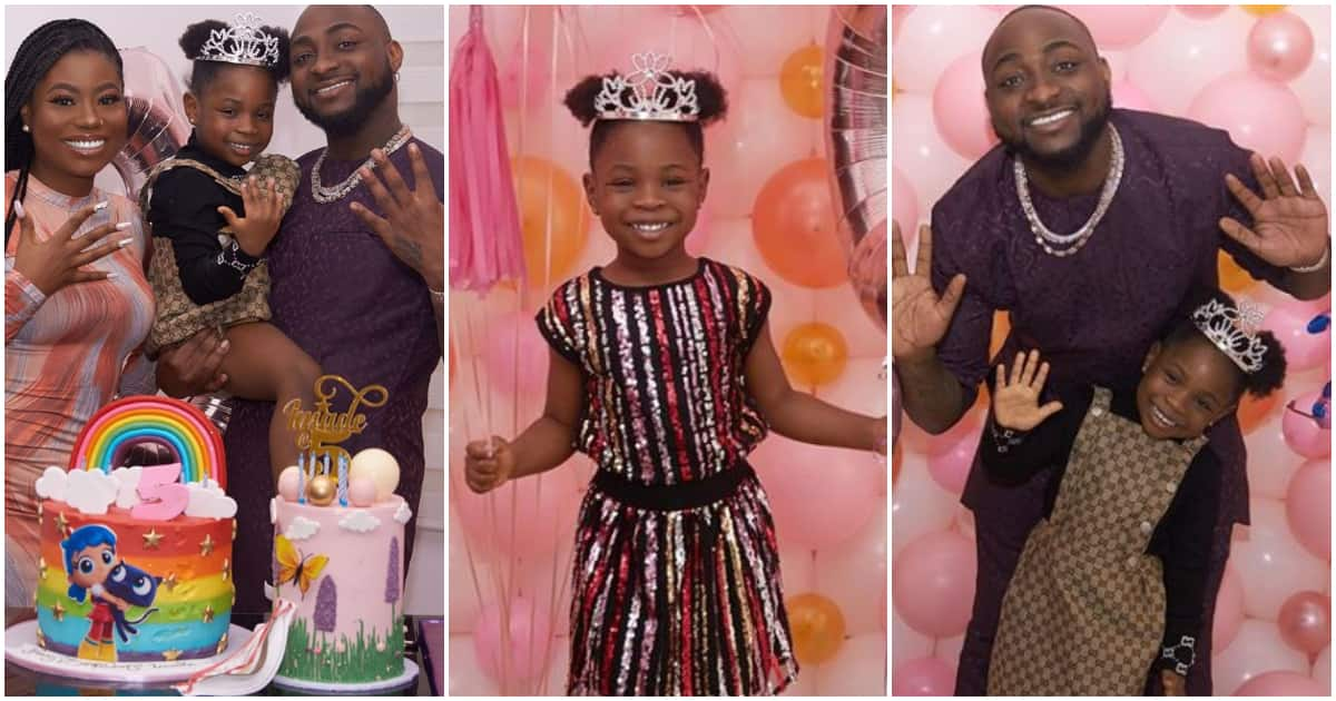 Adorable photos from Davido's daughter Imade's 5th birthday party