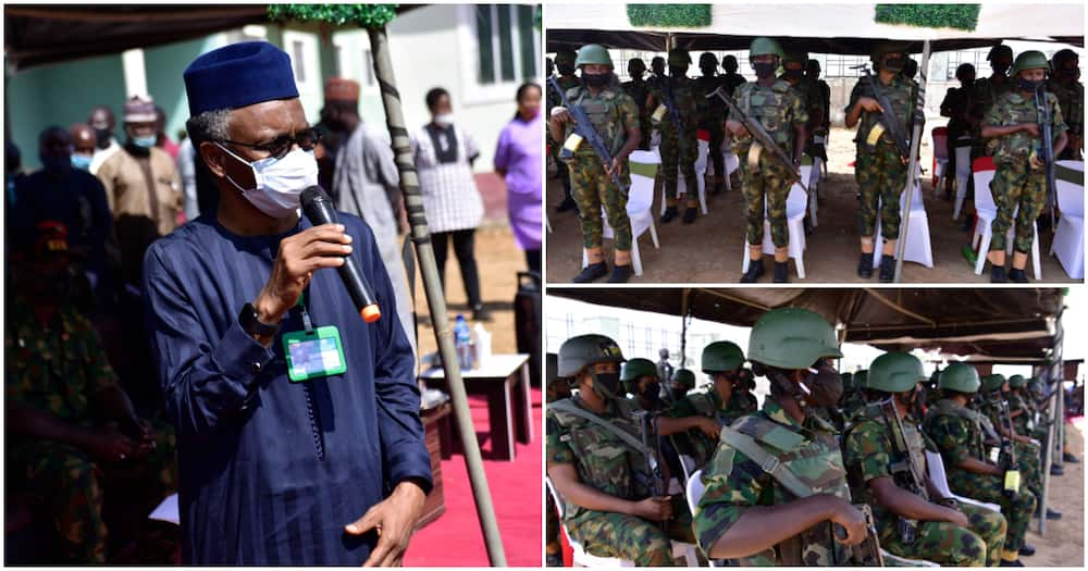 Boko Haram, bandits in trouble as northern governor receives 100 female soldiers