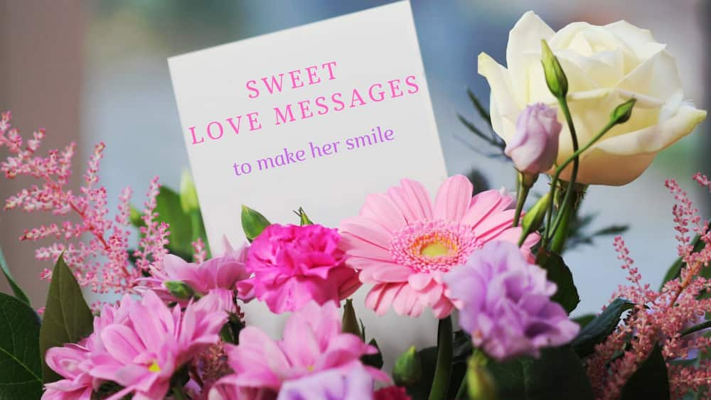 Sweet love messages to make her smile ▷ Legit ng