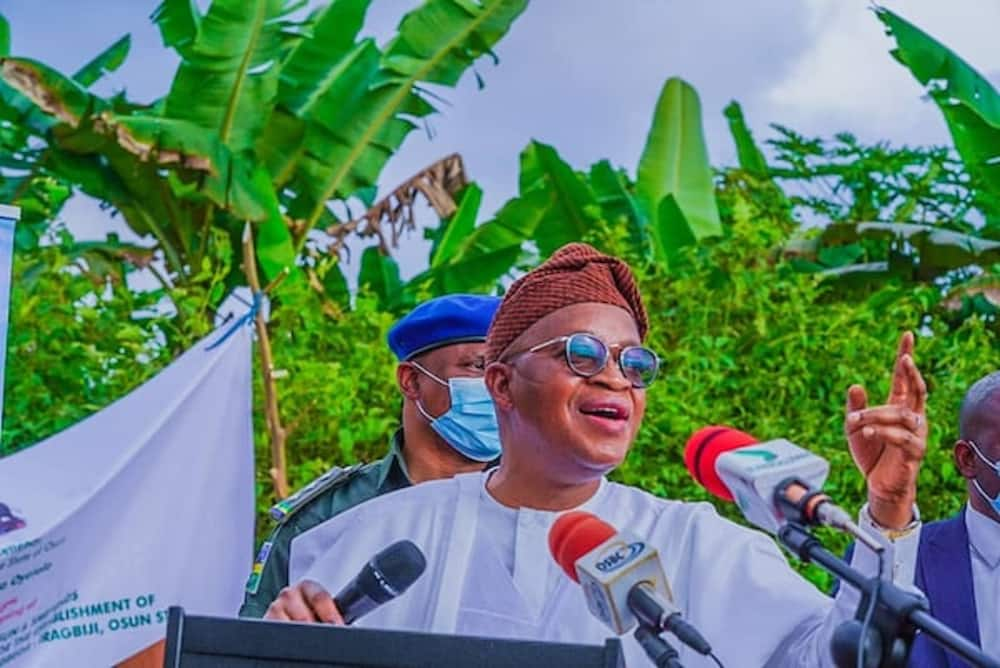 Governor Oyetola asks LG chairpersons, councillors in Osun to vacate office