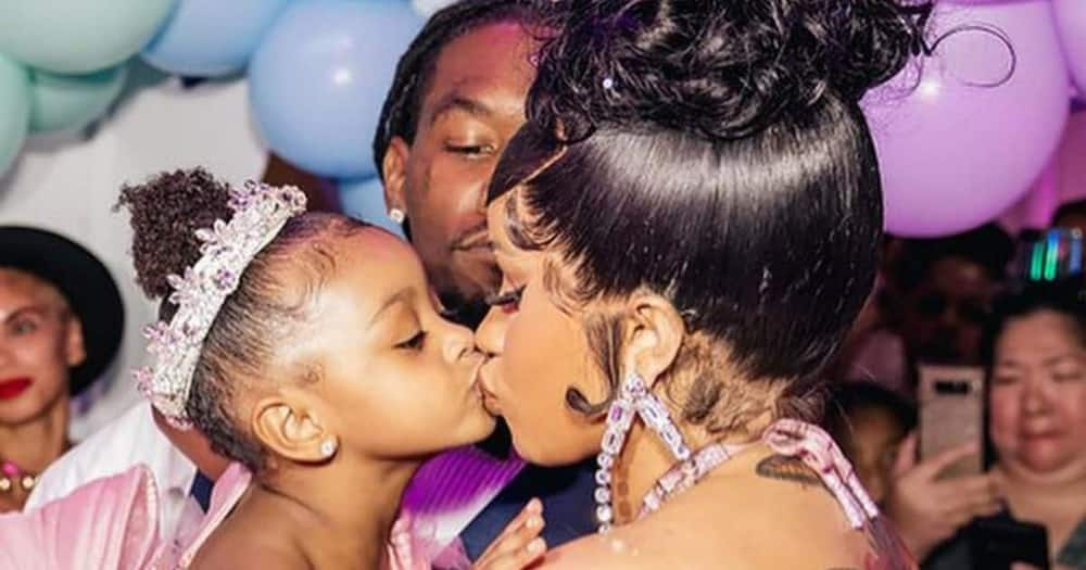 Cardi B and Offset threw a royalty-like birthday party for Kulture on Saturday.