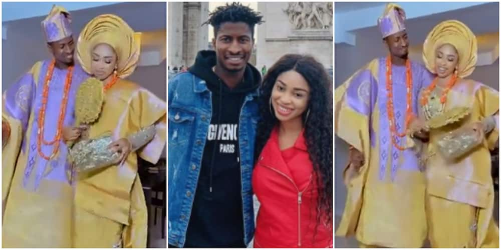 Becoming Mrs: Actress Yetunde Barnabas shares adorable video as she holds traditional wedding