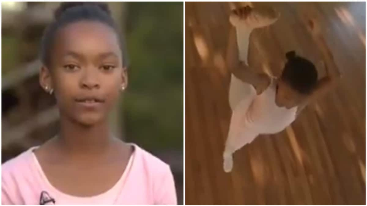 Lwandle is 12-year-old amazing ballet dancer with several medals from Swaziland