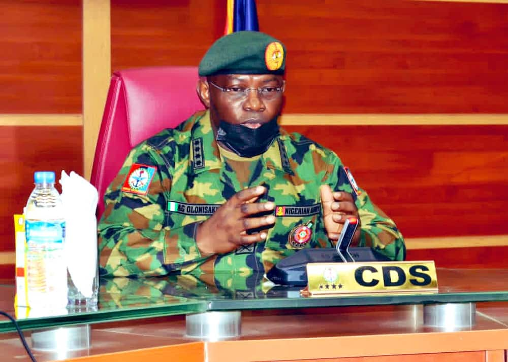 Olonisakin: Under my leadership, military reclaimed all territories controlled by Boko Haram