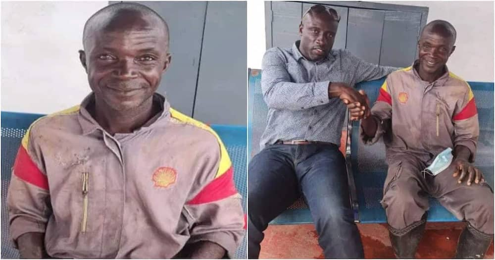 The car wash attendant from Ghana found money in a bag at Kejetia Market.