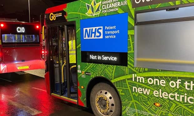 COVID-19: London buses changed into ambulances to tackle emergencies