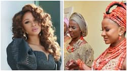 Happy birthday my girlfriend - Famous Nollywood actress says as her mom turns 60 (photo)