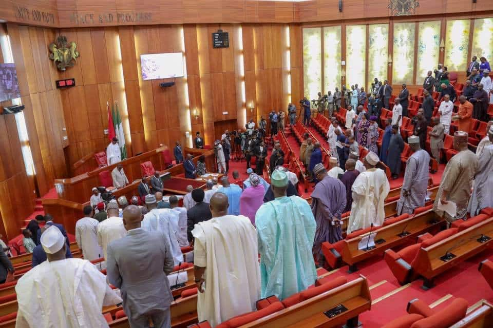 Senate observes 1 minute silence for Nigerian victims of Ethiopian Airlines crash