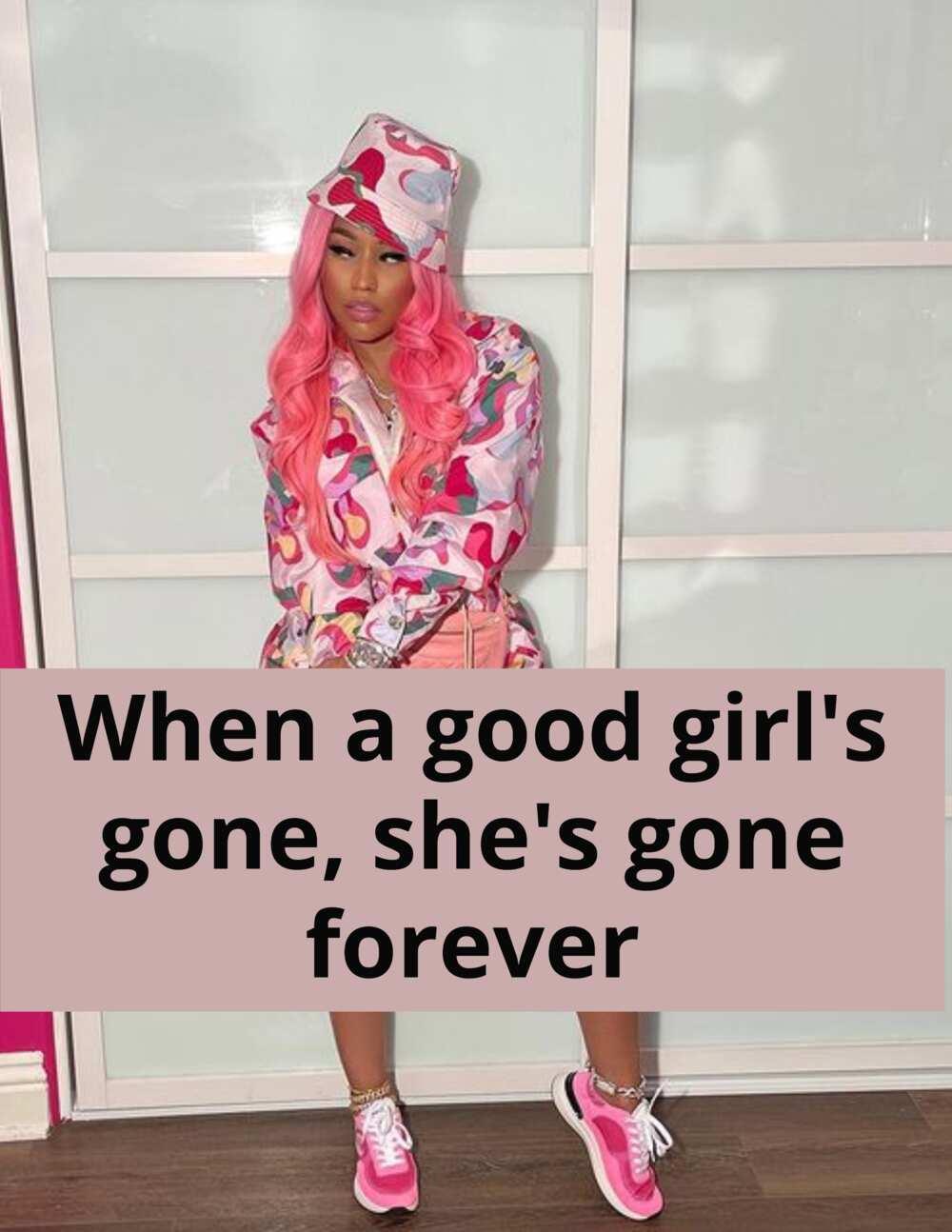 Kutipan Nicki Minaj terbaik tentang menjadi lajang