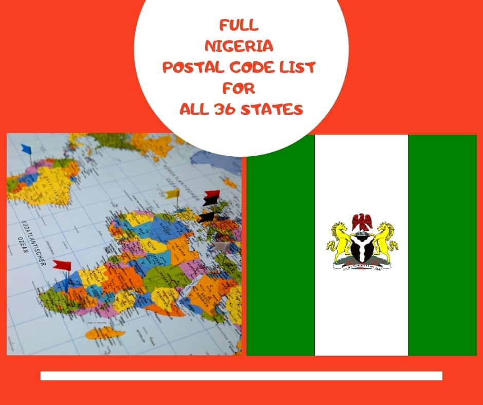 Full Nigeria Postal Code List For All 36 States Legit Ng
