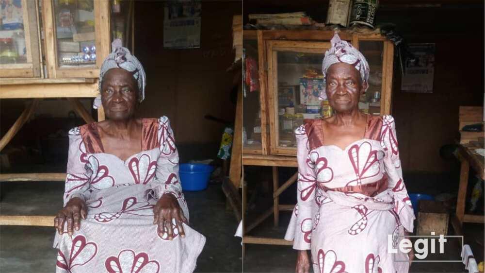 Rashidi Yekini's mother.