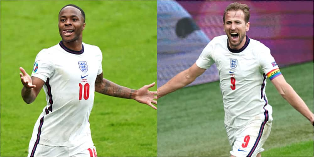 England vs Germany: Sterling, Kane score as Three Lions win 2-0