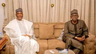 2023: Former presidential candidate officially joins APC, meets party's chairman in Abuja