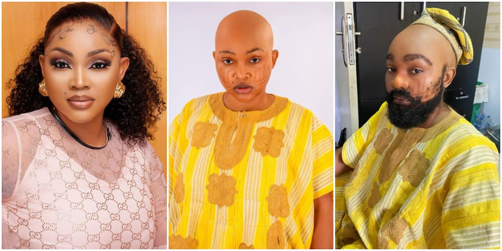 Mercy Aigbe goes bald for new movie