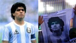 Yanzu yanzu: Fitaccen ɗan kwallon duniya Diego Maradona ya mutu