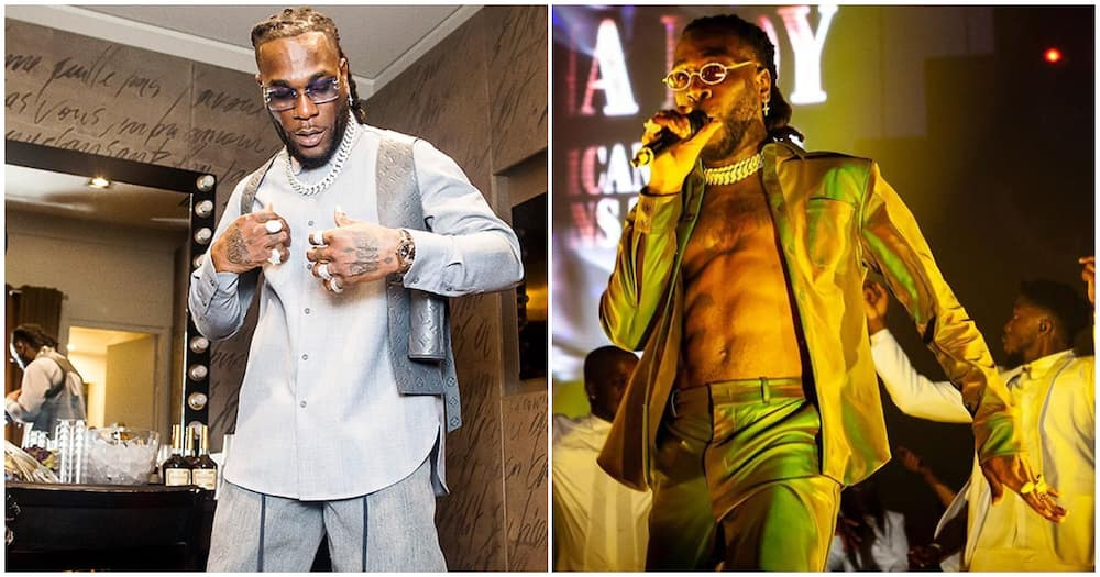Nigerians share their thoughts on Burna Boy's BET Awards performance