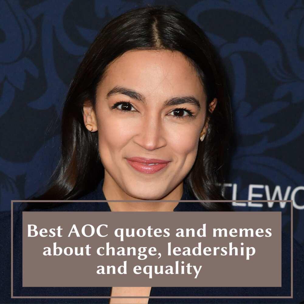 Alexandria Ocasio-Cortez quotes