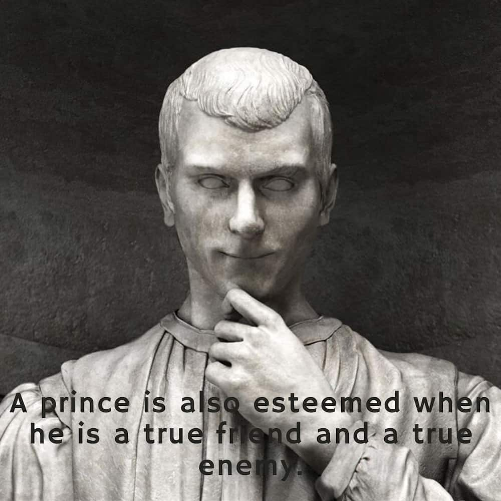 quotes by machiavelli
