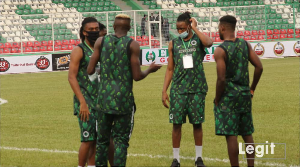 Super Eagles will line up against Benin, Aribo may be axed
