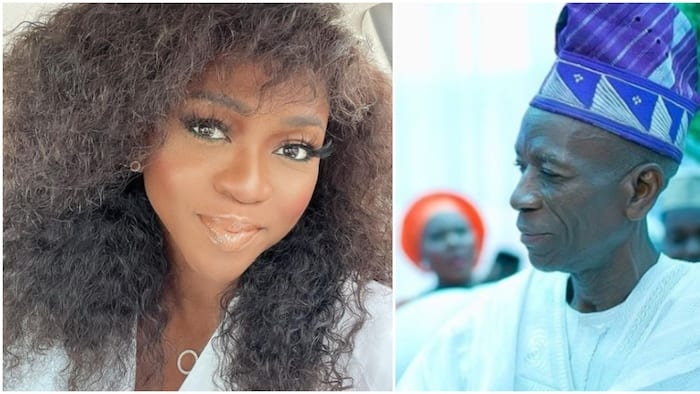 A girl needs a father: Singer Waje pens heartbreaking note as she loses beloved dad
