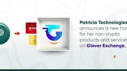 Patricia Technologies announces new home for her non-crypto products and services on Glover Exchange