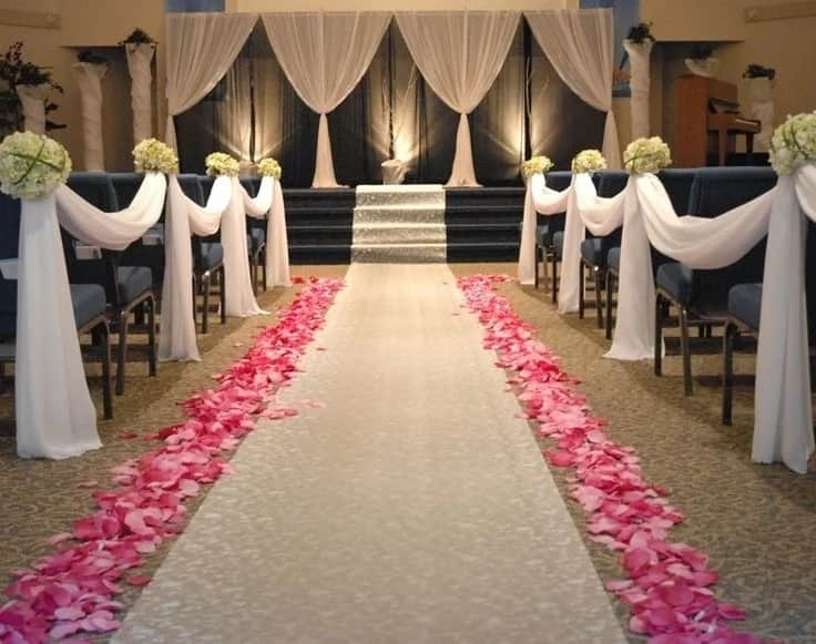 Nigerian Church Decoration Pictures For A Wedding Legit Ng