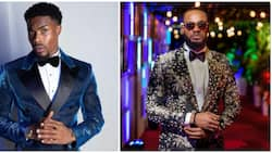 Shine bright like Prince and Neo: Fans vote for the best dressed male at BBNaija reunion
