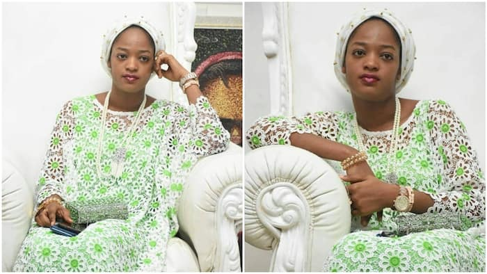 Ooni of Ife's wife stuns in new photos, she loves light makeup