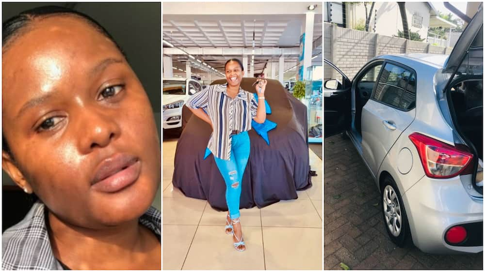 Nokulunga Njapha gets a car