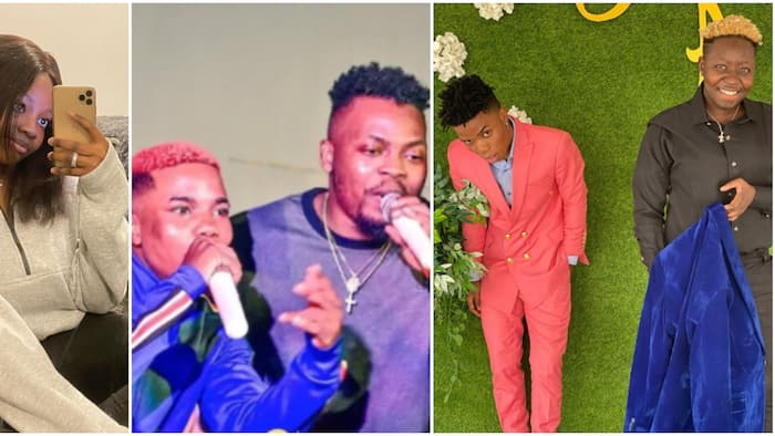 He lost Olamide, other big opportunities because of you: Lyta's baby mama clamps down on his manager Seyi