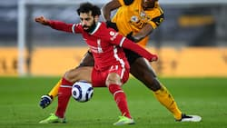 Panic as football fans 'attack' Mohamed Salah for this reason during Liverpool's win over Wolves