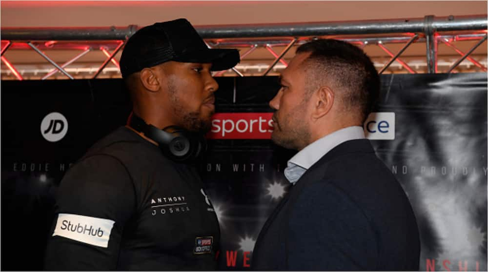 Anthony Joshua reveals he will steamroll Pulev in the upcoming fight