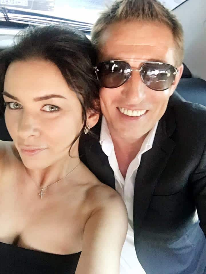 Pasha D. Lychnikoff and wife