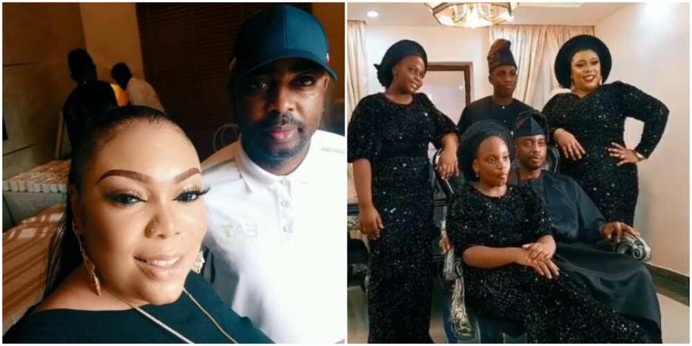 Singer Teni's family member celebrates wedding anniversary with beautiful photos