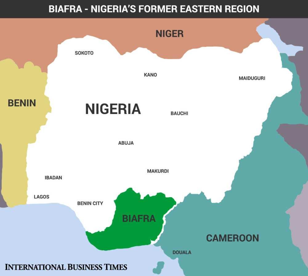 Ku cire mu a jerin masu son ballewa daga Najeriya, jihohin Kudu ga masu son kafa Biafra