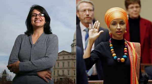 Two women make history in America as they become the first Muslim women elected to congress