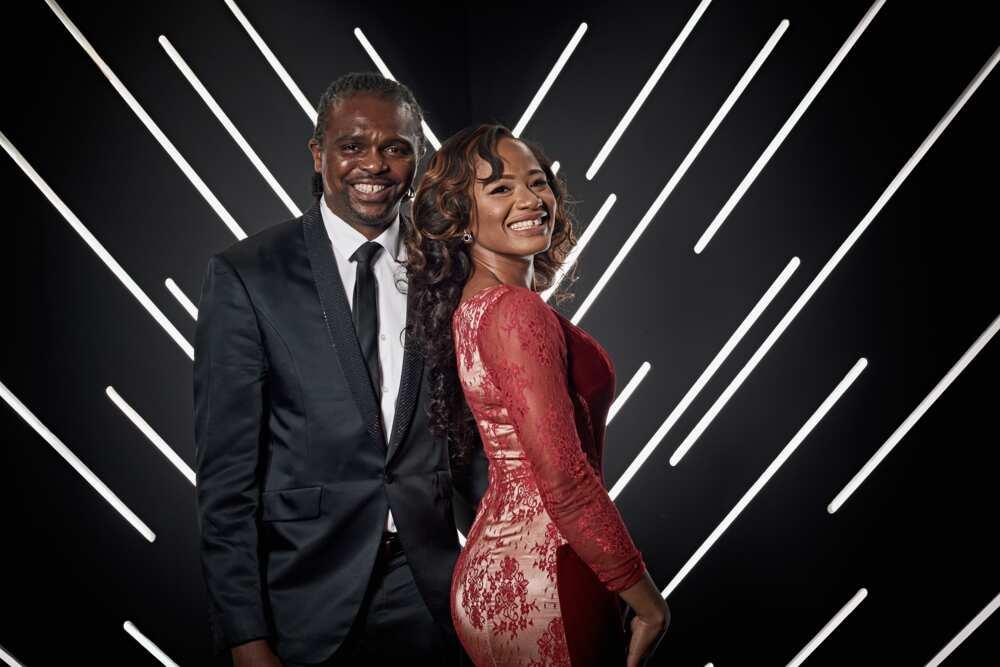 Kanu Nwankwo and wife
