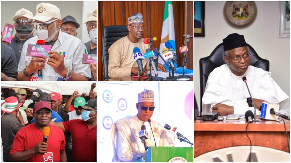 List of 5 Nigerian Governors Who Handed Over Power to Their Deputies and Why They Did So