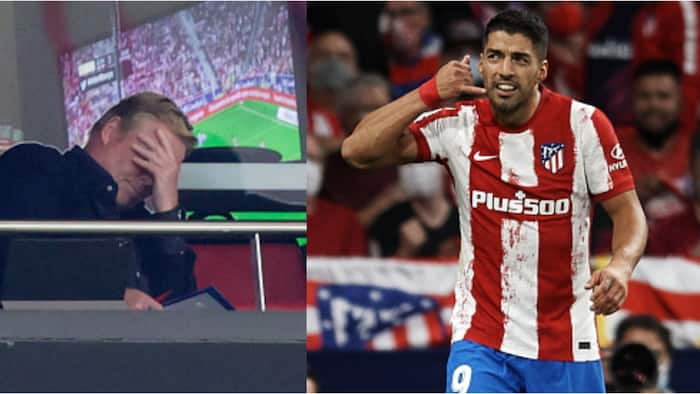 Meaning of Luis Suarez's phone call celebration against Barcelona revealed