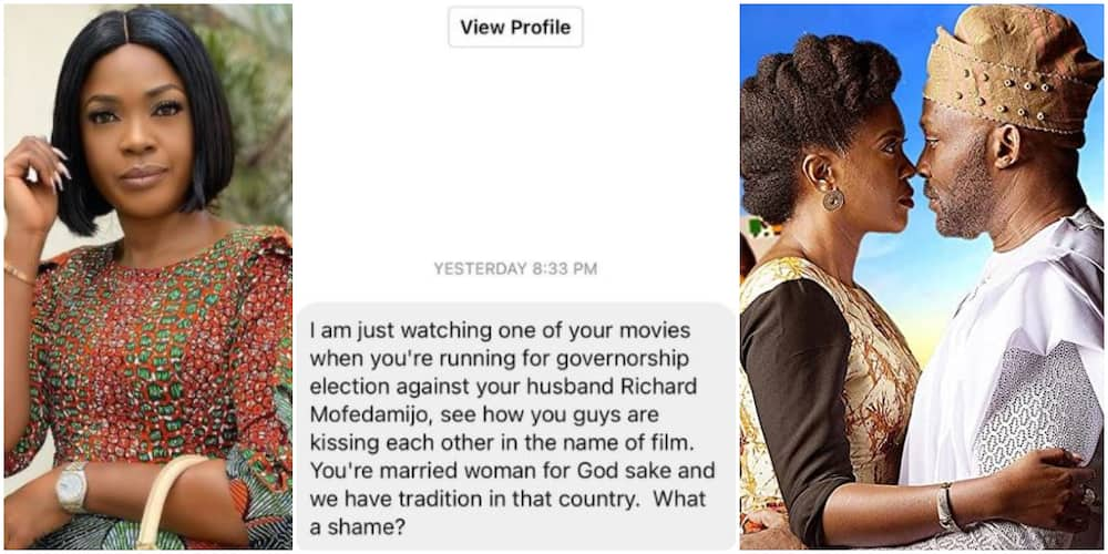 You Are a Married Woman: Critic Slams Actress Omoni Oboli for Kissing In a Movie, She Reacts