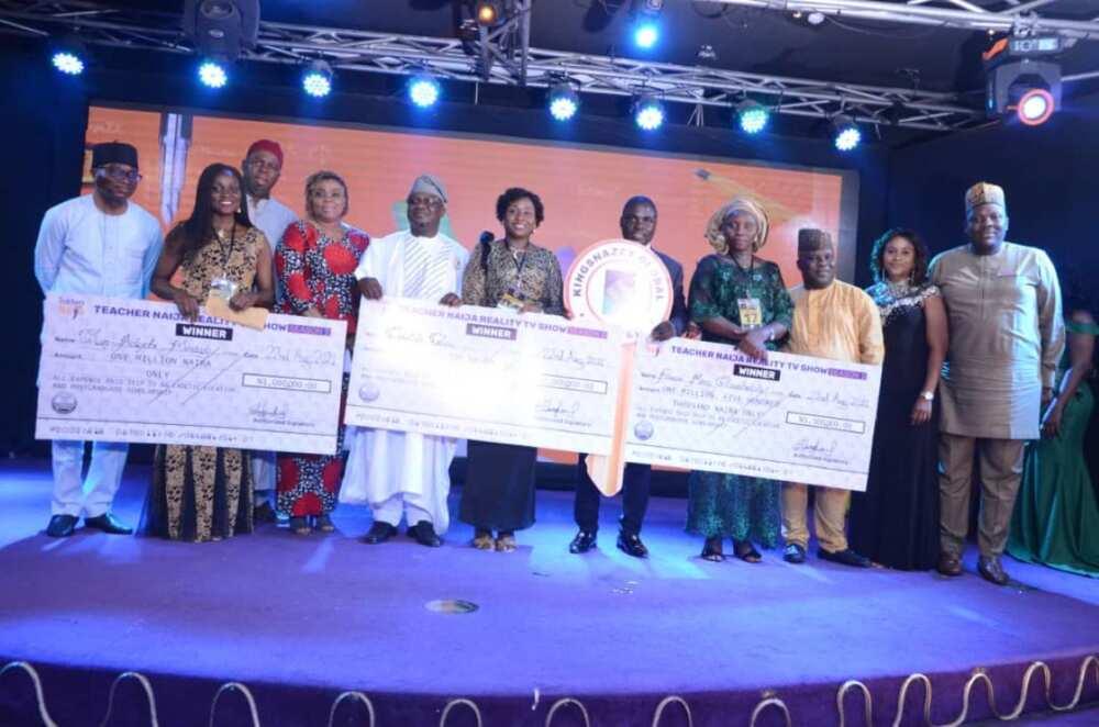 Winners of Naija Teachers' Show