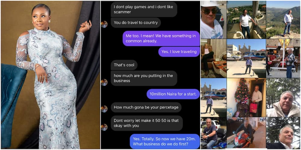 Nigerian lady shares chat with scammer who tried to dupe her of N10million