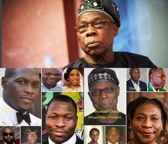 Olusegun Obasanjo children