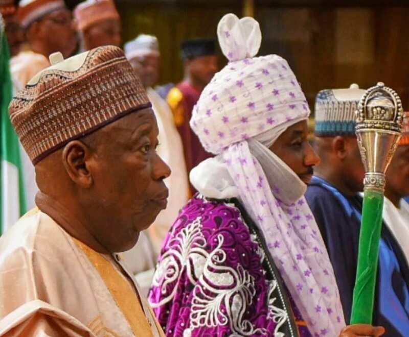 Religion brings them together as Sanusi backs Ganduje for banning Sheikh Abduljabbar