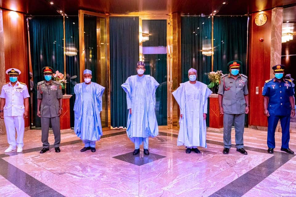 Buhari: 4 key points from president's first message to new service chiefs