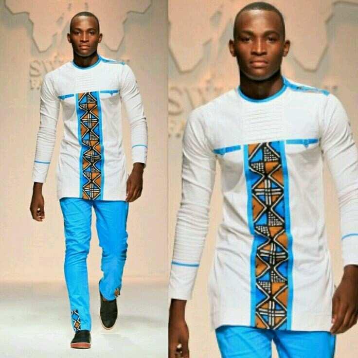 Men's native style
