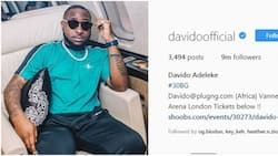 Davido hits 9 million followers on Instagram, becomes first Nigerian celeb to achieve the feat
