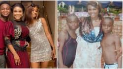 Actress Iyabo Ojo shares epic throwback photos with her kids as she joins the #10yearschallenge