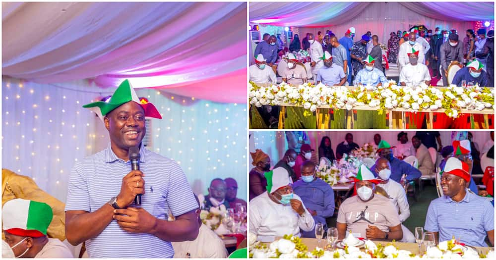 Photos emerge as Makinde Hosts Wike, Tambuwal, 12 Other PDP Governors