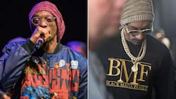 Fans sing along as Snoop Dogg pays tribute to his late mum during show in New York with Stand by Me song